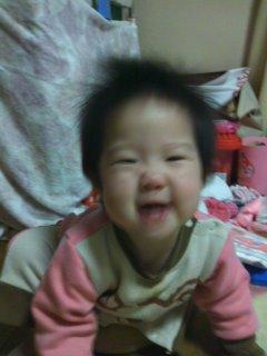 満面の笑み(*^∇^*)