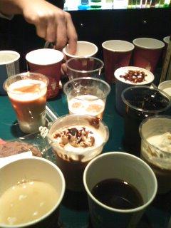 コーヒー試飲♪♪