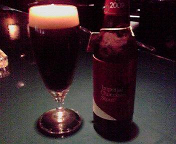 チョコレートビール♪